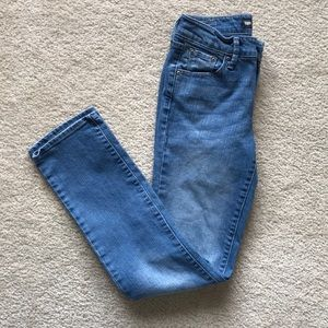 Levi's High Waisted Mom Straight Leg Jeans